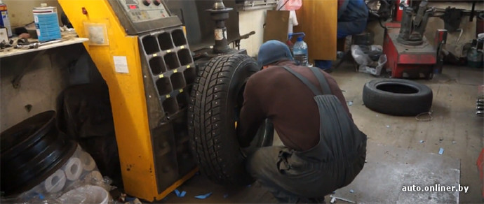 В Минске ГАИ раздала водителям скидки на шиномонтаж и автомойку