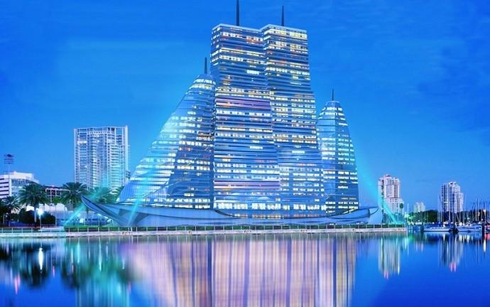 Проект гостиницы в виде корабля