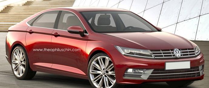 Немцы подтвердили появление нового Volkswagen СС