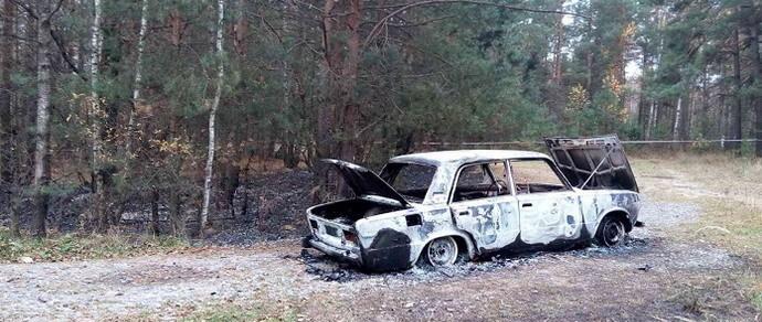 Жлобин: в сгоревших «Жигулях» найдены три тела
