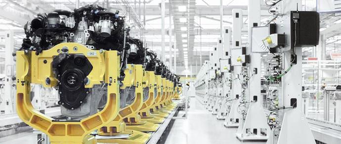 В Великобритании стартовало производство 4-цилиндровых моторов для Jaguar Land Rover