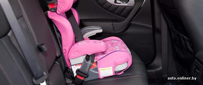 ГАИ: детей можно будет перевозить без автокресла в условиях крайней необходимости
