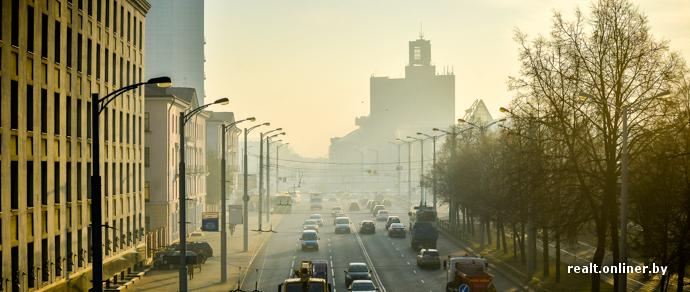 Фотофакт: Минск накрыло густым смогом