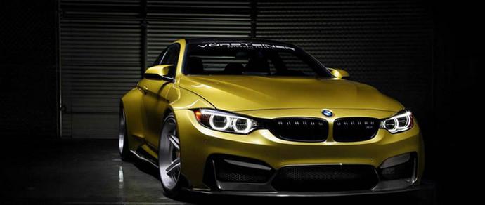 На выставке SEMA-2014 дебютирует 550-сильный BMW M4