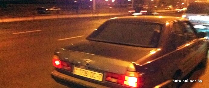 Минчанин помог задержать пьяного водителя BMW 7-Series