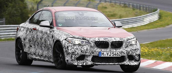 BMW M2 получит 3-литровый турбомотор мощностью около 400 л. с.