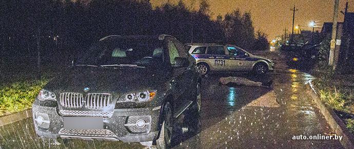 Минск: водитель BMW X6 совершил смертельный наезд на пешехода в частном секторе