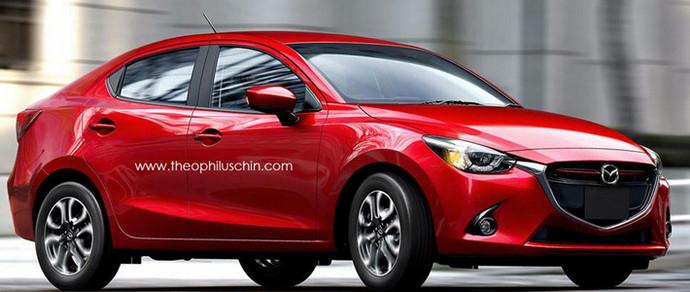 Новый седан Mazda2 дебютирует 28 ноября в Таиланде