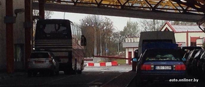 Пункт пропуска «Варшавский мост» был оцеплен из-за артиллерийского снаряда