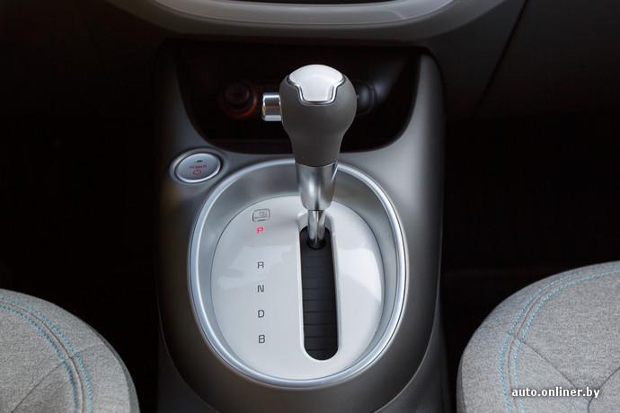 Это не автоматическая коробка передач, хотя и похожа внешне. Это блок изменения режима работы редуктора