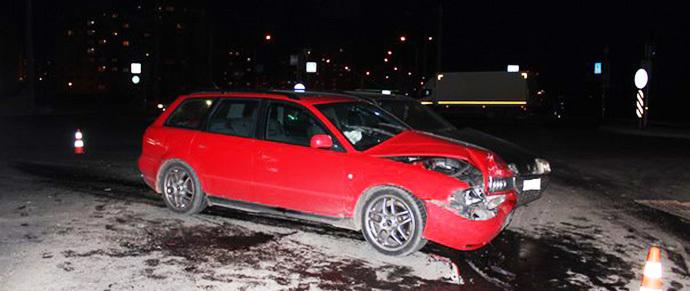 В Гродно женщина на Renault не пропустила Audi — пострадала двухлетняя девочка