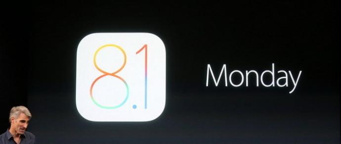 Вышла iOS 8.1 с исправлением ошибок