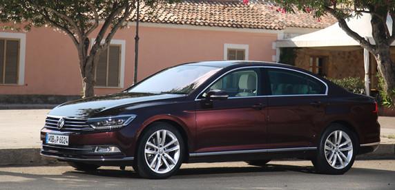 Тест-драйв: раскрываем контрасты Volkswagen Passat В8
