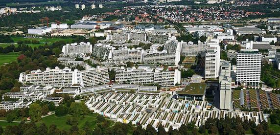 Олимпийский парк Мюнхена: образцовый жилой район 1970-х и место одного из самых громких терактов ХХ века