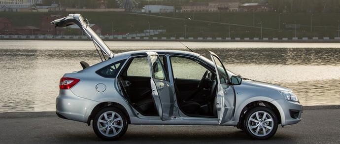У лифтбэка Lada Granta нашли дефект в системе ABS