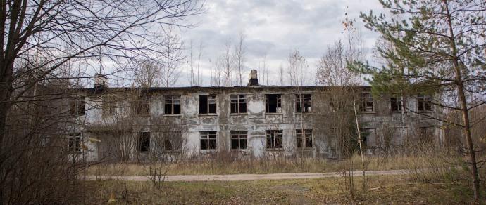 Остатки легендарного «ядерного щита»: заброшенная военная часть в белорусской глуши