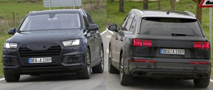 Новый Audi Q7 остался практически без камуфляжа