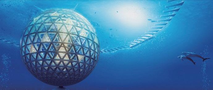 Ocean Spiral: первый подводный город появится через 15 лет