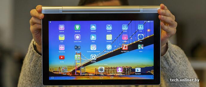 Планшет-гигант: обзор lenovo yoga tablet 2 pro с пико-проектором - технологии onlinerby