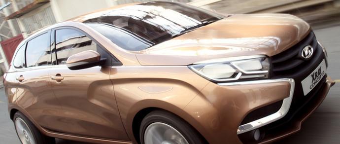 Lada XRay поступит на конвейер в начале следующего года