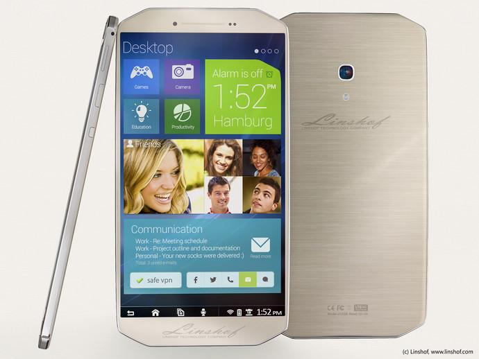 Linshof i8: оригинальный смартфон с 8-ядерным процессором и 80 Гбайт памяти В...