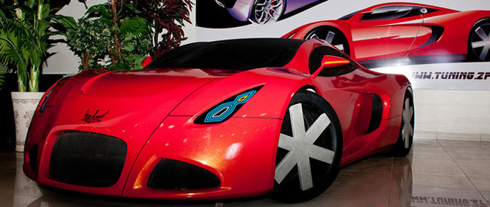 В Запорожье разрабатывают первый в истории Украины суперкар