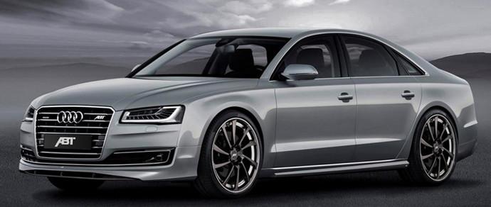 Компания ABT сделала обновленный седан Audi A8 мощнее