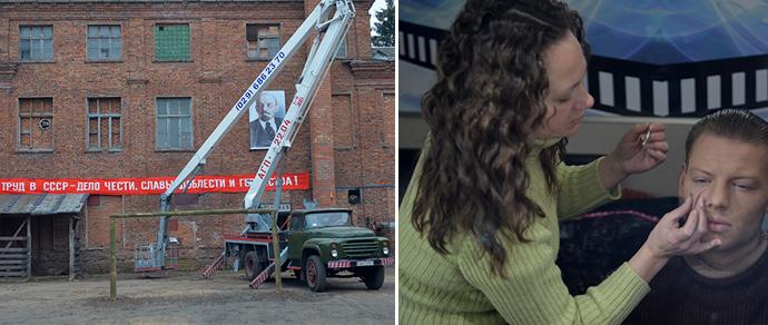 Заброшенную птицефабрику в Минске, где построят элитное жилье, превратили для съемок фильма в «зону»