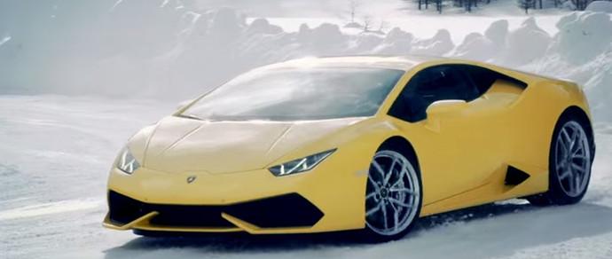 Lamborghini научит желающих ездить боком по снежному покрытию