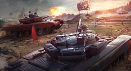 Wargaming выпустила однопользовательскую игру «Танковый биатлон»