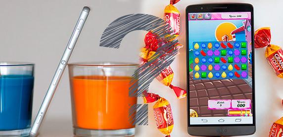 Выбираем лучший смартфон года! Sony Xperia Z3 против LG G3