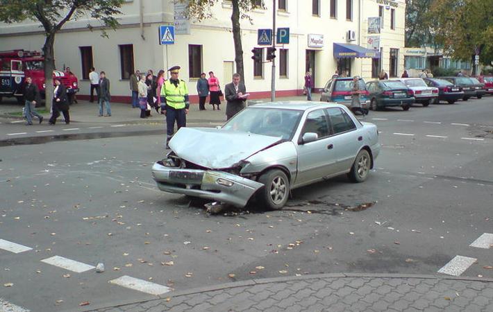 аварии с маршрутным такси 7 в Бресте.  По данным ГАИ, сегодня в 9:50 водитель маршрутки двигался по улице...