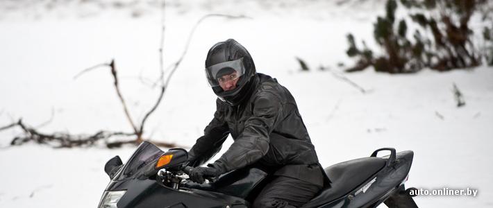 Снежный байкер: «Я — морж-мотоциклист»
