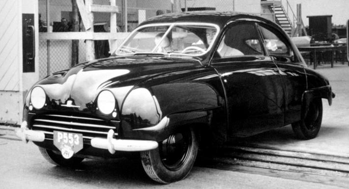 Первая модель Saab