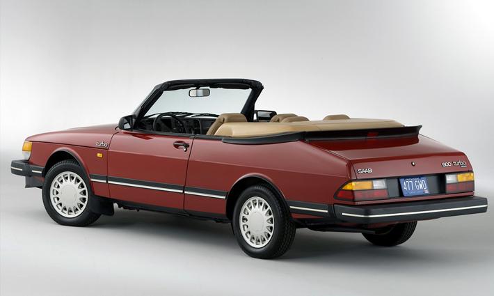 Saab 900 Convertible (1986)