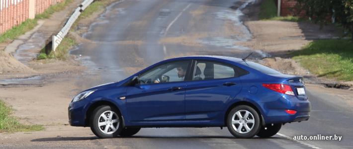 Обзор и тест-драйв Hyundai Solaris из Беларуси - Hyundai Solaris ...