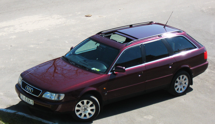 Audi A6 C4: последний из могикан.