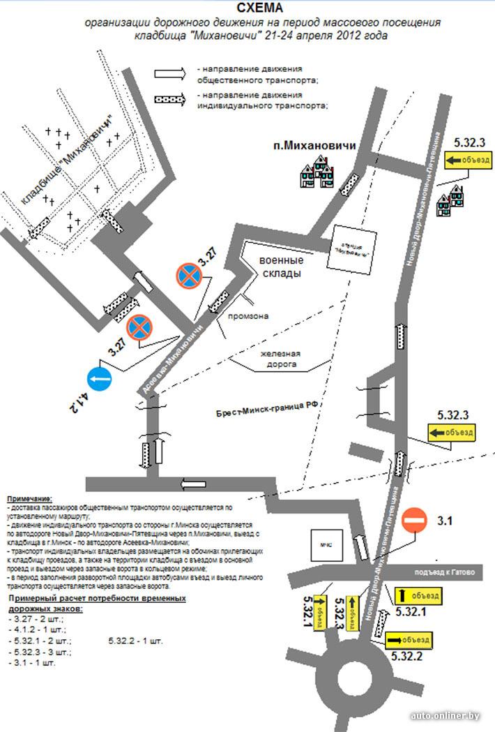 Михановичское кладбище Подъехать к кладбищу можно будет по дороге Новый Двор - Михановичи - Пятевщина через п...
