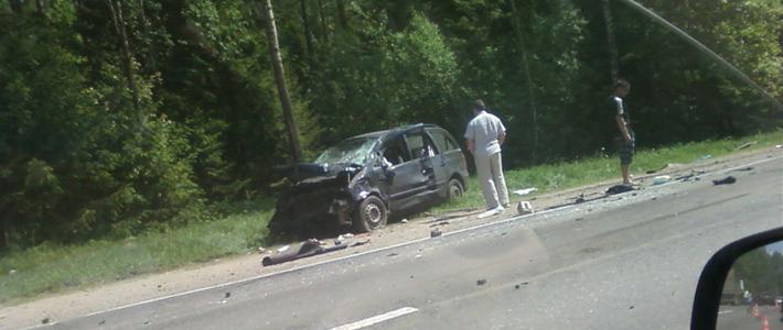 Логойский район: россиянка погибла в лобовом столкновении двух Volkswagen