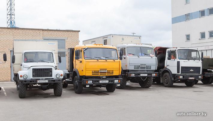 Многие коммерческие автомобили в Беларуси работают на газе