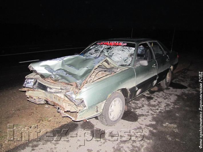 Под Барановичами водитель сбил двух пешеходов