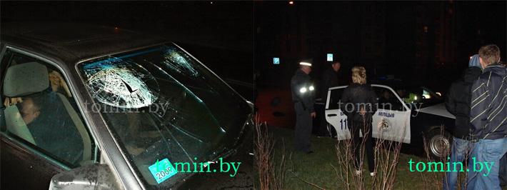 Брест: майор ГАИ, попавший в пьяном виде в аварию, уволен