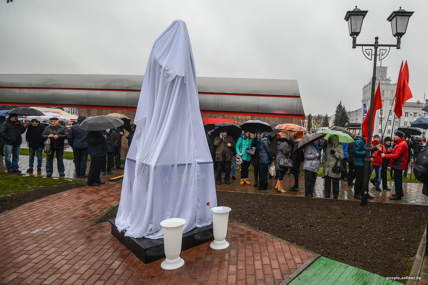 Сценарий церемонии открытия памятников