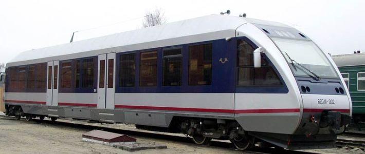 БЖД запускает движение рельсовых автобусов весной 2012 года