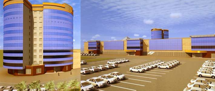 В Могилеве начали строить крупнейший в регионе многофункциональный центр