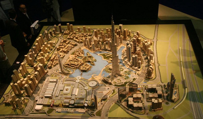 Dubai Mall общей площадью