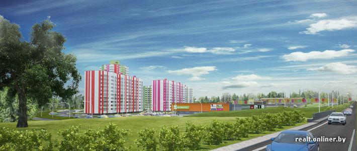 За «однушку» в новом квартале «Зеленые Горки» (Сеница) просят 31 тысячу долларов