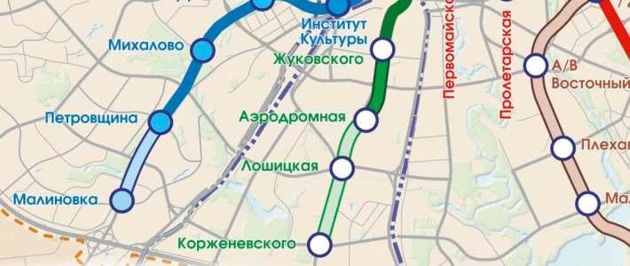 линии минского метро.