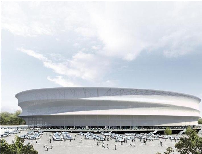 стадион получился похож