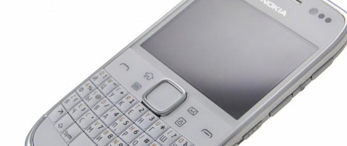 Обзор смартфона Nokia E6 под управлением ОС Symbian Anna